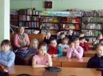 Детский лагерь «Тополек» в гостях у библиотеки