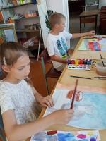 Усманская межпоселенческая библиотека приглашает на занятия в ИЗОСТУДИЮ!