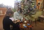 Мастер-класс «Объемная снежинка из вязальных ниток»  к Старому Новому году